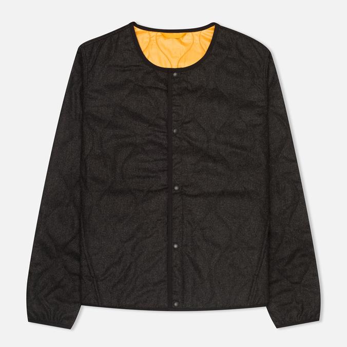 Мужская стеганая куртка Universal Works Chore Grey/Orange