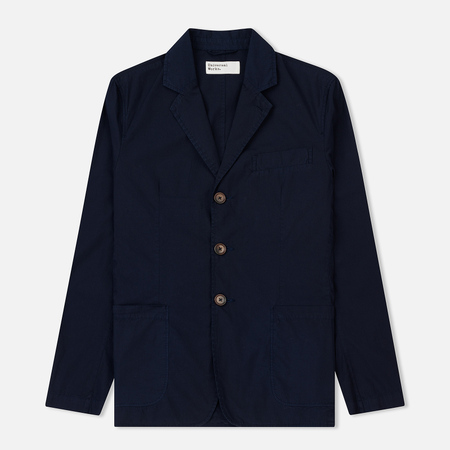 Мужской пиджак Universal Works London Poplin Navy