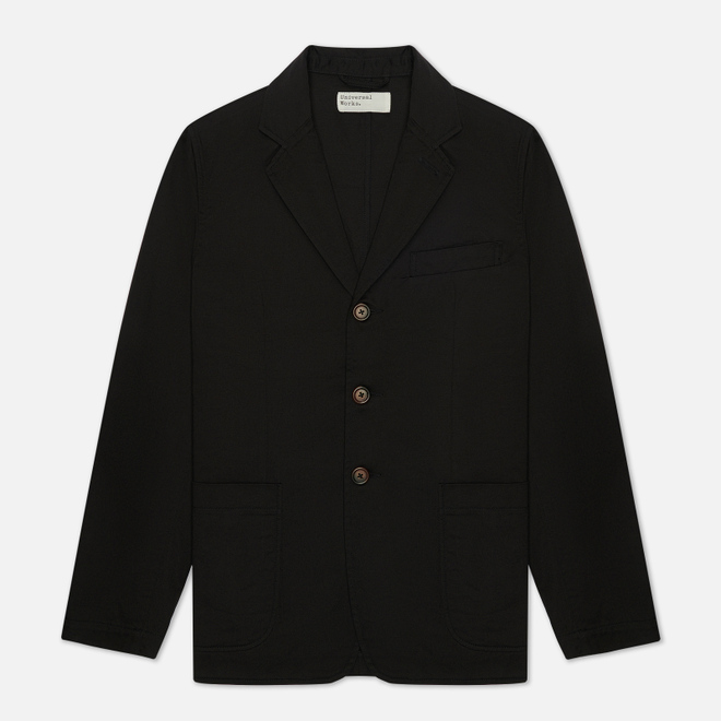 Мужской пиджак Universal Works London Twill Black