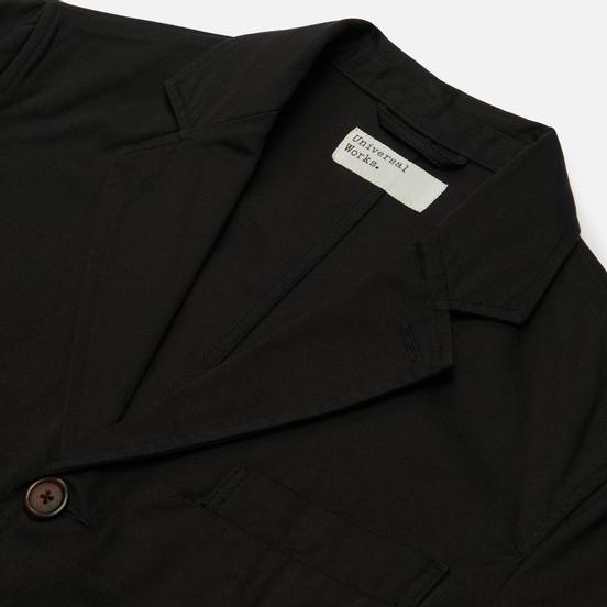 Мужской пиджак Universal Works London Twill Black