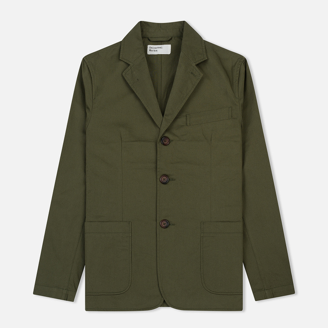 Мужской пиджак Universal Works London Twill Light Olive