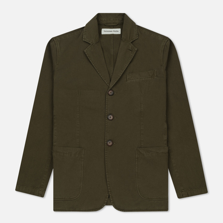 Мужской пиджак Universal Works London Twill Military Olive