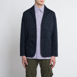 Мужская куртка парка Universal Works Military Workshirt Short Cotton/Nylon Navy фото- 6