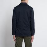 Мужская куртка парка Universal Works Military Workshirt Short Cotton/Nylon Navy фото- 7