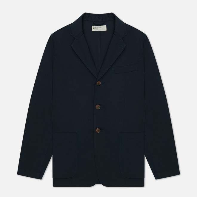 Мужской пиджак Universal Works London Twill Navy