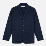 Universal Works London Twill Men`s Blazer Navy photo- 0
