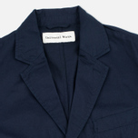 Universal Works London Twill Men`s Blazer Navy photo- 1