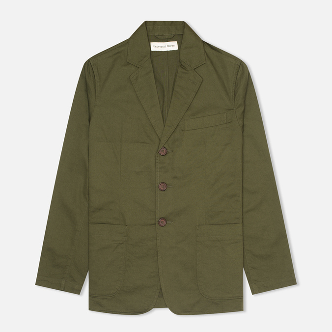 Мужской пиджак Universal Works London Twill Olive