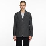 Мужской пиджак Universal Works London Wool Marl Grey фото- 6
