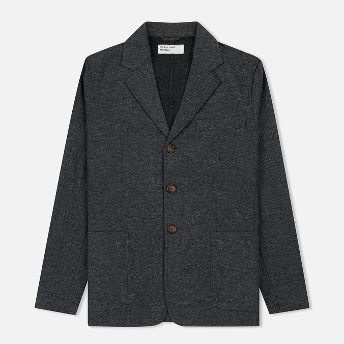 Мужской пиджак Universal Works London Wool Marl Grey