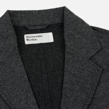 Мужской пиджак Universal Works London Wool Marl Grey фото- 1