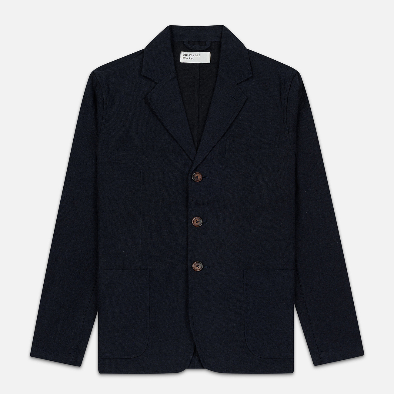Мужской пиджак Universal Works London Wool Marl Navy