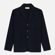 Мужской пиджак Universal Works London Wool Marl Navy фото- 0