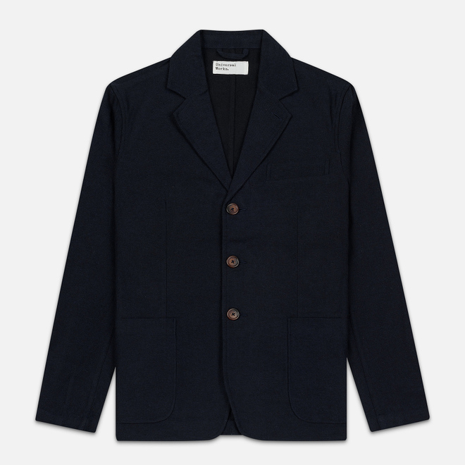 Мужской пиджак Universal Works London Wool Marl Navy