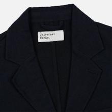 Мужской пиджак Universal Works London Wool Marl Navy фото- 1