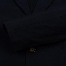 Мужской пиджак Universal Works London Wool Marl Navy фото- 3