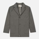 Мужской пиджак Universal Works Peak Lapel Texture Cotton Grey фото- 0