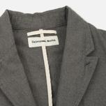 Мужской пиджак Universal Works Peak Lapel Texture Cotton Grey фото- 1