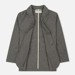 Мужской пиджак Universal Works Peak Lapel Texture Cotton Grey фото- 2