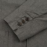 Мужской пиджак Universal Works Peak Lapel Texture Cotton Grey фото- 4