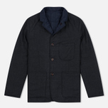 Мужской пиджак Universal Works Reversible Suit Charcoal/Navy фото- 0