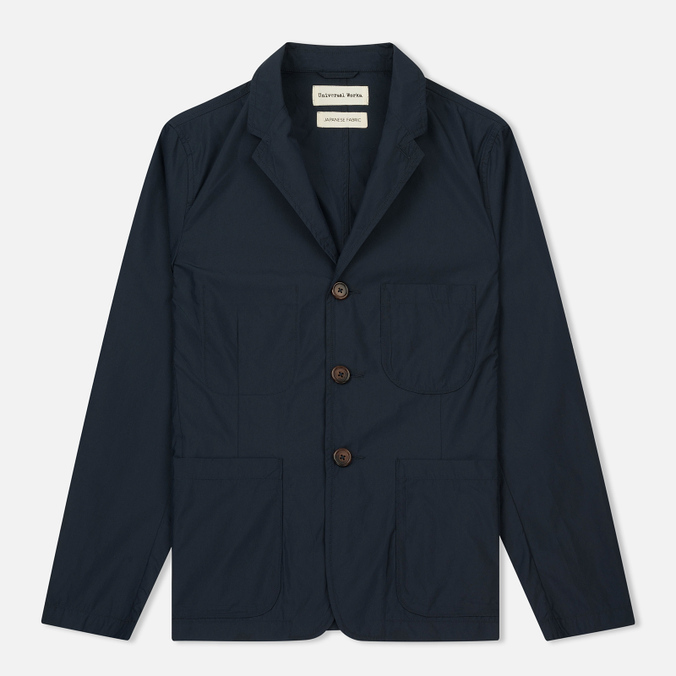 Мужской пиджак Universal Works Suit Cotton/Nylon Navy
