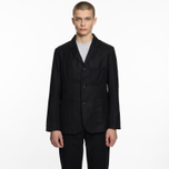 Мужской пиджак Universal Works Suit Flannel Black фото- 6
