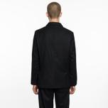 Мужской пиджак Universal Works Suit Flannel Black фото- 7