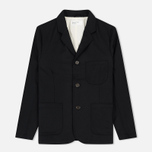 Мужской пиджак Universal Works Suit Flannel Black фото- 0