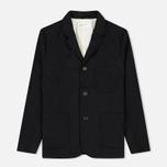 Мужской пиджак Universal Works Suit Flannel Black фото- 0