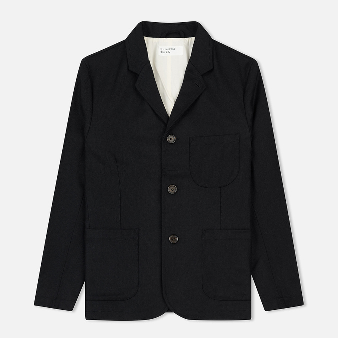 Мужской пиджак Universal Works Suit Flannel Black