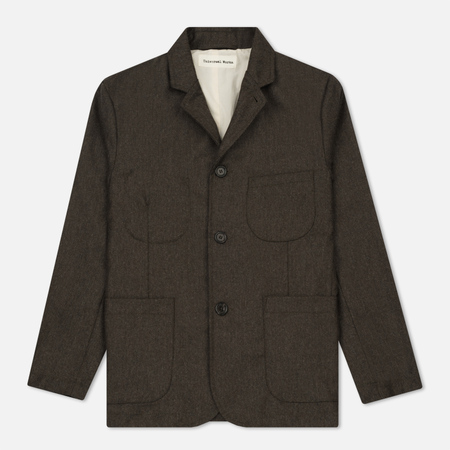 Мужской пиджак Universal Works Suit Flannel Brown
