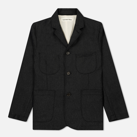 Мужской пиджак Universal Works Suit Flannel Charcoal