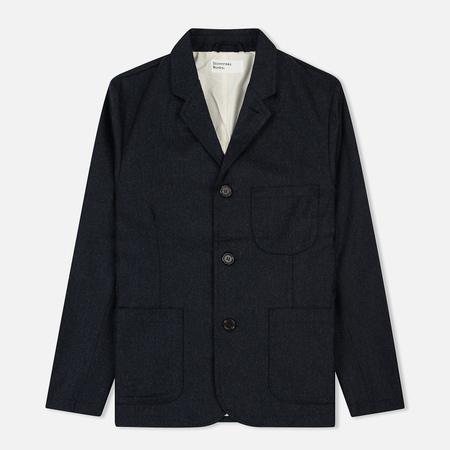 Мужской пиджак Universal Works Suit Flannel Navy