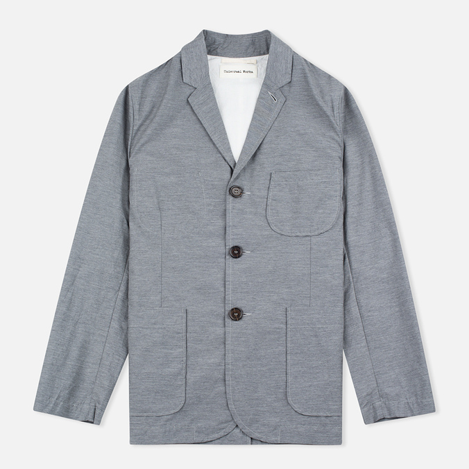 Мужской пиджак Universal Works Suit Nylon Cotton Grey Marl