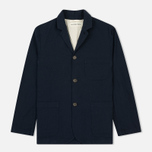 Мужской пиджак Universal Works Suit Panama Cotton Navy фото- 0