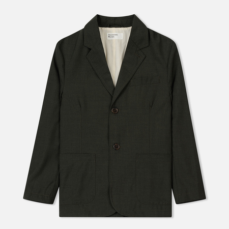 Мужской пиджак Universal Works Two Button Summer Suiting Olive