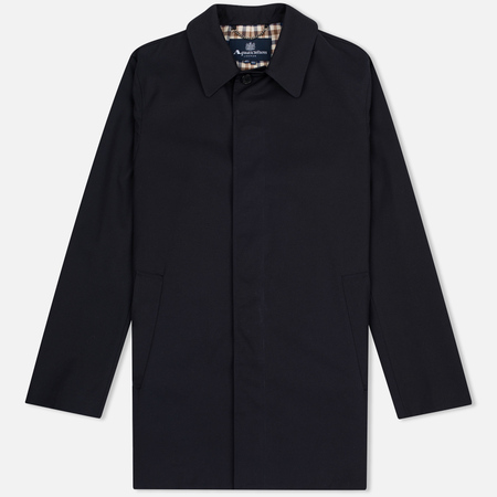 Aquascutum Berkeley SB Men's Rain Jacket Navy