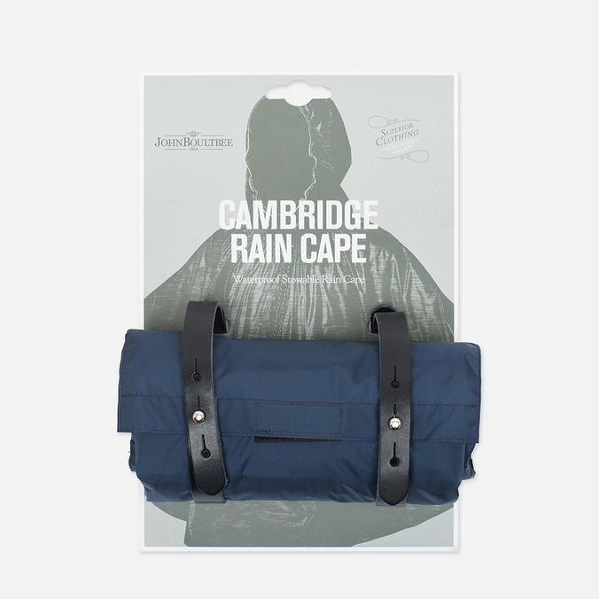 Мужской плащ дождевик Brooks England Cambridge Raincape Blue