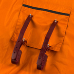 Мужской плащ дождевик Brooks England Cambridge Raincape Orange фото- 5