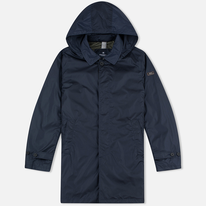 Мужской плащ Hackett Pacable Mac Navy