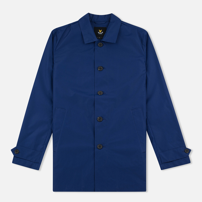 Мужской плащ Lyle & Scott Light Weight Present Blue