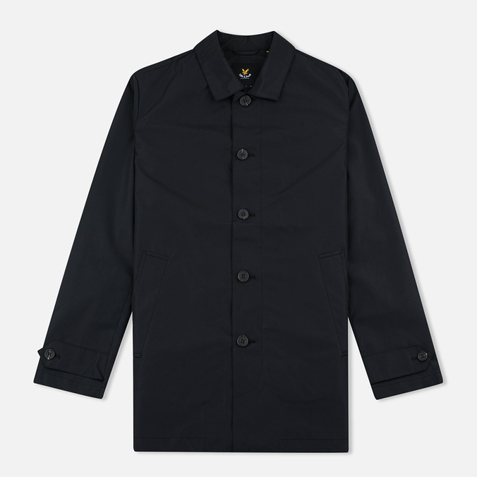 Мужской плащ Lyle & Scott Light Weight True Black