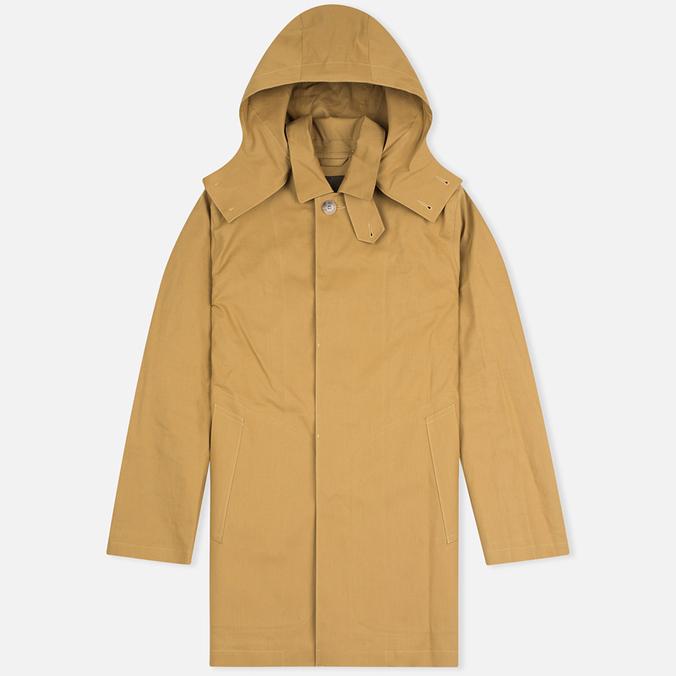 Mackintosh Dunoon Hood Men`s Coat Camel