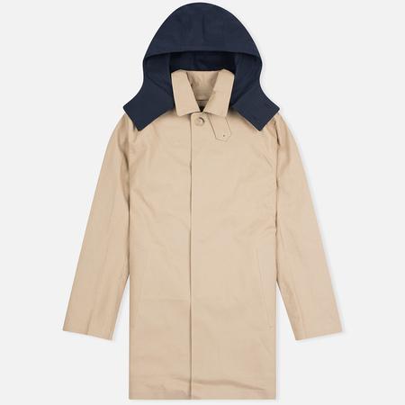Mackintosh Dunoon Hood Men's Coat Fawn/Brown Corduroy