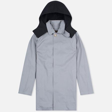 Mackintosh Dunoon Hood Men`s Coat Grey