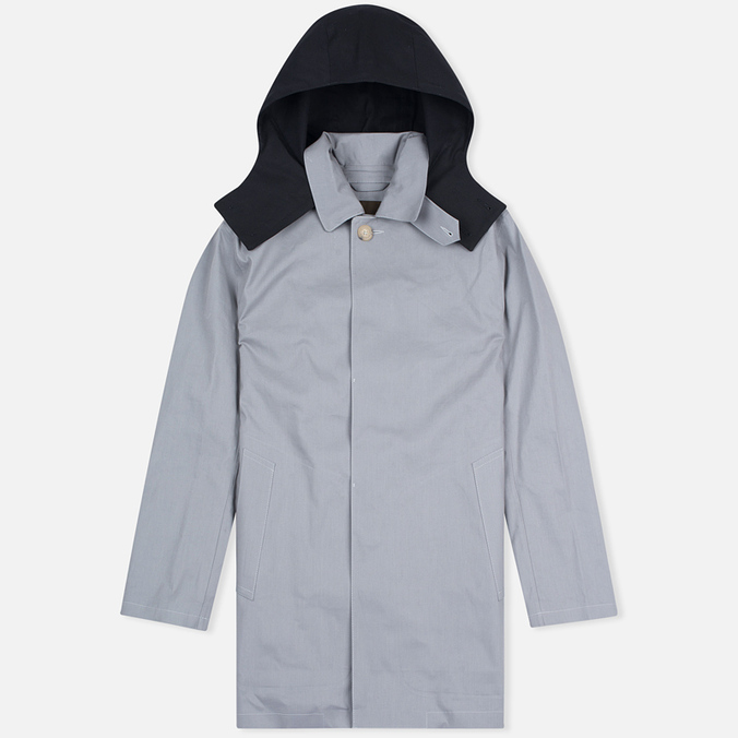 Мужской плащ Mackintosh Dunoon Hood Grey