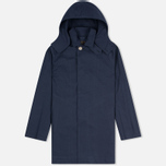 Мужской плащ Mackintosh Dunoon Hood Navy фото- 0