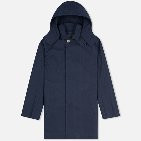 Мужской плащ Mackintosh Dunoon Hood Navy