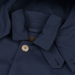 Мужской плащ Mackintosh Dunoon Hood Navy фото- 3